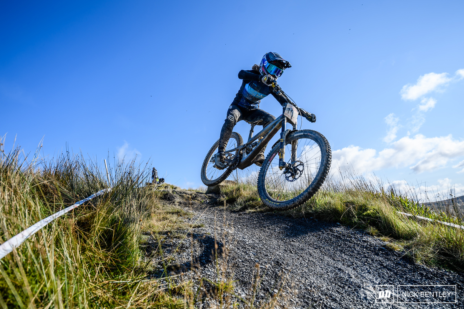 There s nothing more fun than blue skies downhill bikes and jumps