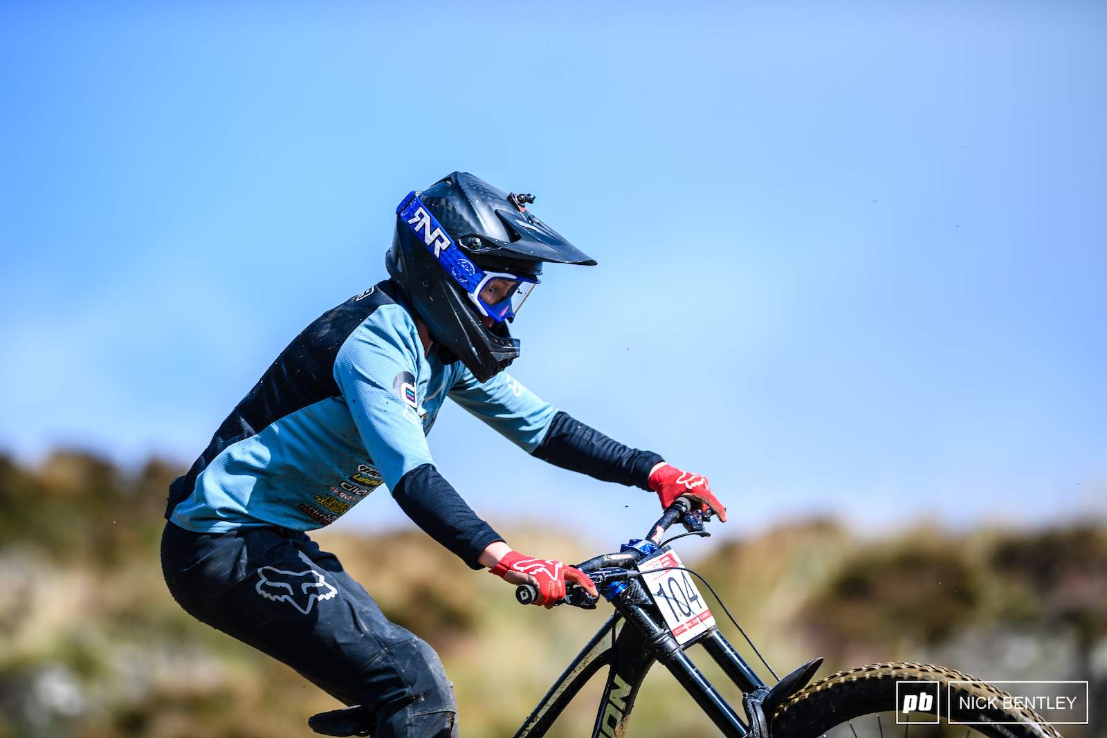 Stacey Fisher having some fun on the back wheel