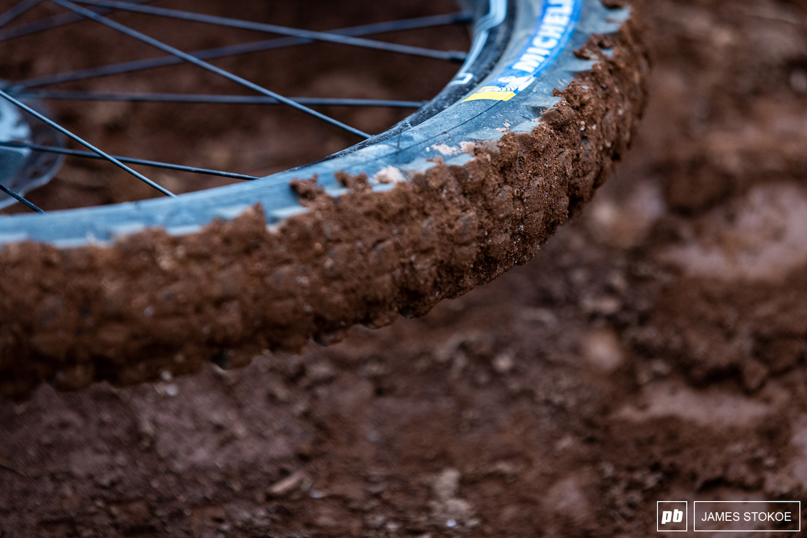 Obligatory shot to show the condition of the dirt onsite as displayed on Zink s wheel in an artsy fartsy way.