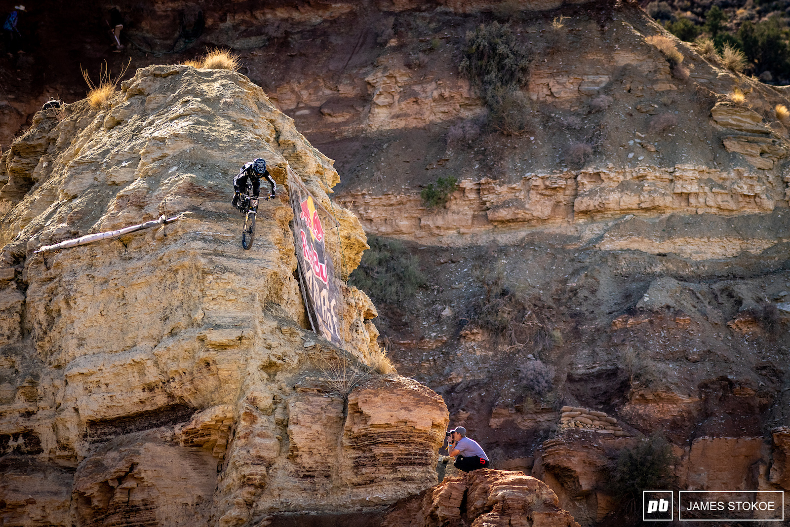 It s hard to get a true representation of how steep and exposed the Knoblin is. Tyler McCaul makes it look easy.
