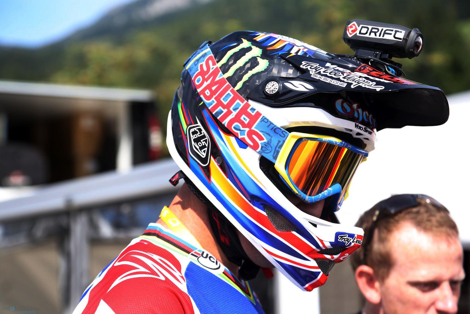 Steve Peat's 2012 World Champs bike - image by Jacob Gibbons