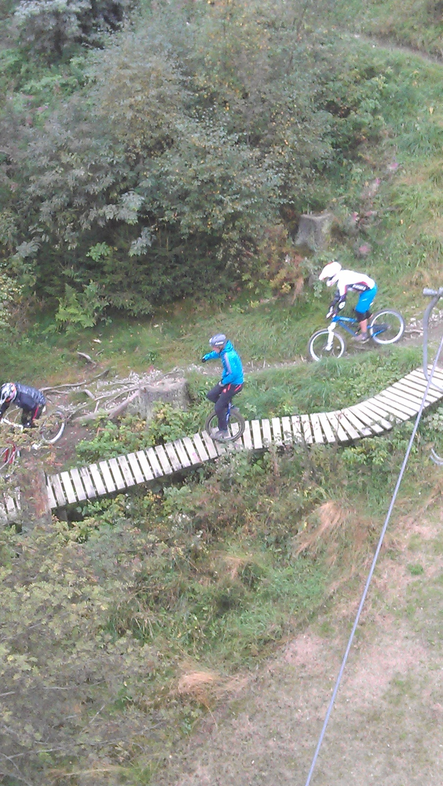 Unicyclist hitting the trails at winterberg. If anyone knows his name I will gladly add it in the detail
