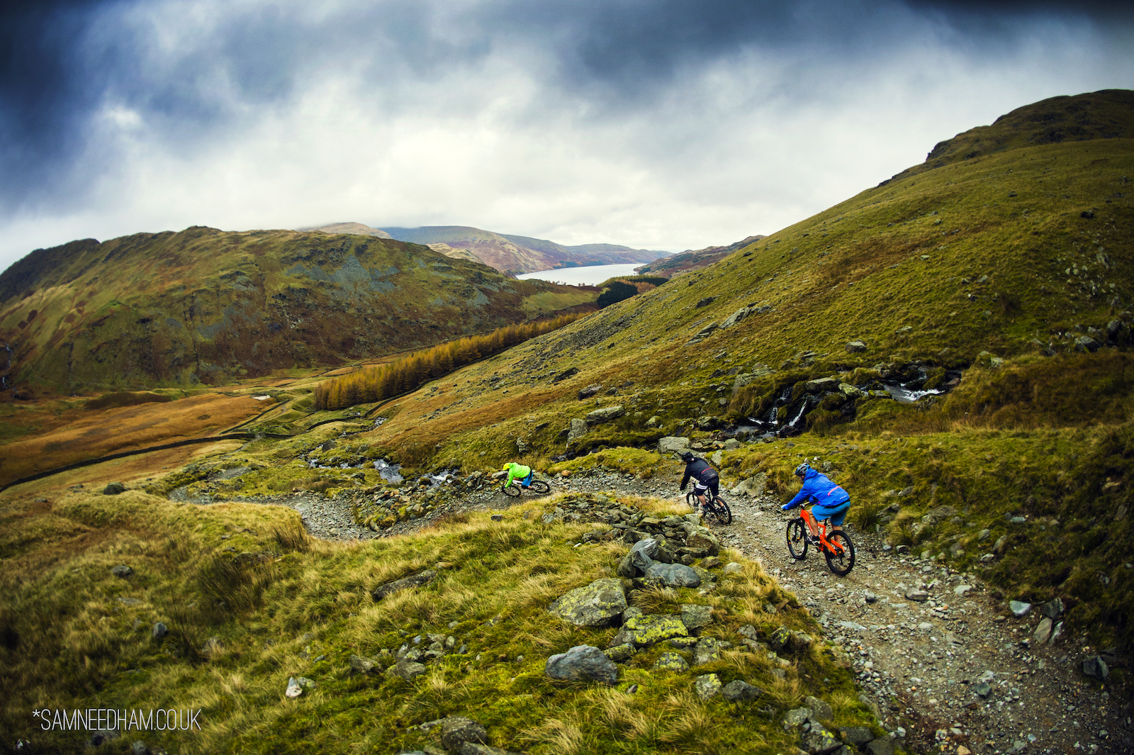 It's doesn't take long for you to realise why the Lake District, UK is one of the best places to ride on earth. Natural descents snake their way along its epic slopes, as mountains and lakes peep into view every corner you turn. This is what mountain biking is about!