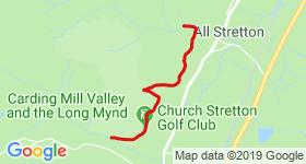 Carding Mill to Batch Valley Mountain Biking Trail - Shropshire