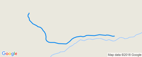 Huff N Puff (Ext) Mountain Biking Trail - Jackson, GA Dauset Trails Map on