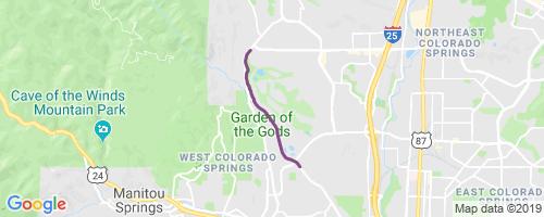 Palmer Mesa Mountain Biking Trail Colorado Springs