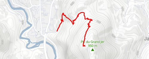 Piste Rouge Trail at Pic du Jer