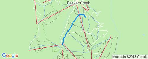 Allies Way Mountain Biking Trail Avon Colorado