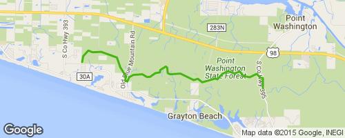 Niceville Florida Map.Longleaf Greenway Mountain Bike Trail Niceville Fl