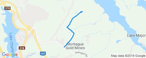 Melancholy Mountain Mountain Biking Trail - Dartmouth, NS
