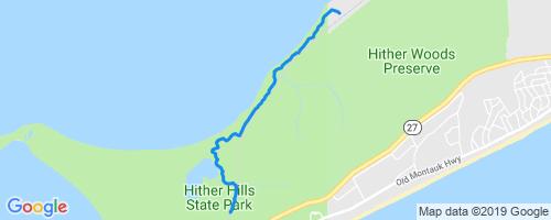 Stephen Talkhouse Mountain Biking Trail - Montauk, NY on mashomack preserve trail map, paumanok path trail map, great river trail map, south fork trail map, bear mountain loop trail map,