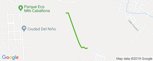 Subida del Eje Central Mountain Biking Trail - Santo Domingo