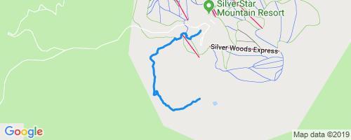 BX Creek Mountain Biking Trail - Vernon, British Columbia