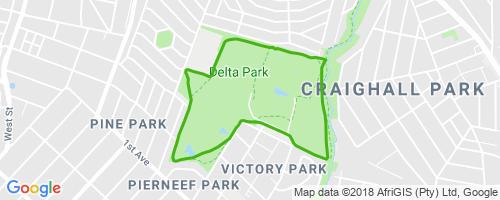 Delta Park Loop Mountain Biking Trail Johannesburg