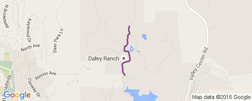 Ranch House Mountain Biking Trail - Escondido, California on