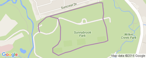Sunnybrook Park Map Sunnybrook Equestrian Trail Mountain Biking Trail   Toronto