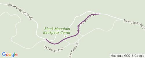Black Mountain Camp Road Mountain Biking Trail Palo Alto CA