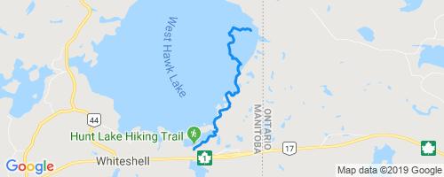 Hunt Lake Hiking Trail Hiking Trail - West Hawk Lake, MB