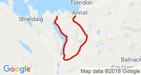 Beinn Damh Circuit Mountain Biking Trail - Torridon