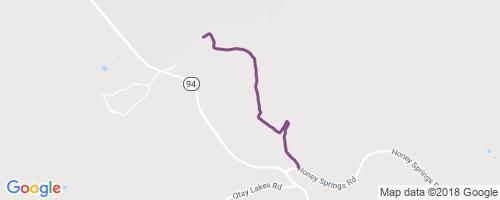 Daley Ranch Truck Trail Access Mountain Biking Trail - Chula Vista on