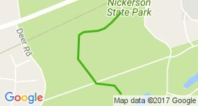 Nickerson Start Mountain Biking Trail - Brewster, MA