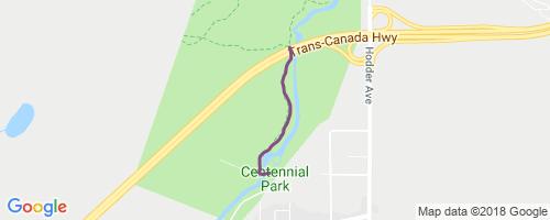 Centennial Cabins Trail Mountain Biking Trail - Thunder Bay on